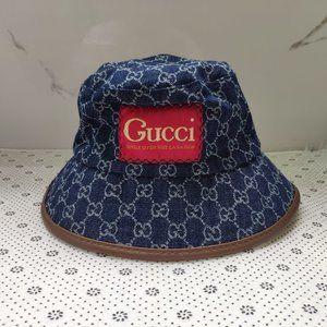 Gucci Blue Bucket Hat